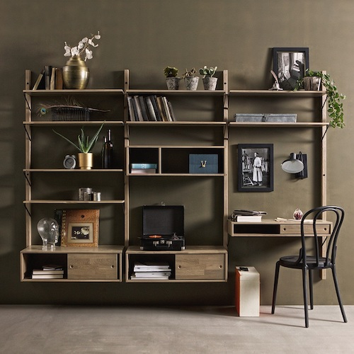 Gyan Wall Shelving Unit